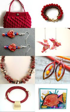 Summer Brights by @turquoisebeeuk by Debbie Winser on Etsy--Pinned with TreasuryPin.com