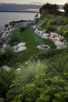 Residential Steep Slope Landscaping Design Ideas, Pictures, Remodel, and Decor - page 36  ~ Great pin! For Oahu architectural design visit http://ownerbuiltdesign.com