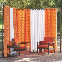 Curtain Privacy Screen Made From PVC Pipe And Outdoor Fabric   Bless Your  Heart: DIY Privacy Screen | For My Creative Side | Pinterest | Privacy  Screens, ...