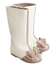 This Latte Elery Boot & Hair Clip - Kids is perfect! #zulilyfinds