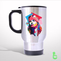 Sell AXL GUN N ROSES Travel Mug
