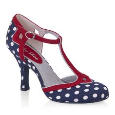 Hatty (Navy Spots) - Shoes - By Ruby Shoo I just bought these.... I'm soooo excited