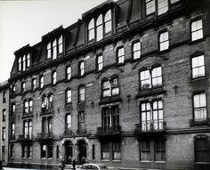 Oldest apartment house in New York City, 142 East 18th Street, Manhattan  Berenice Abbott, Changing New York