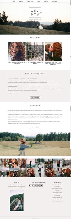 Love this sweet and stunning take on Station Seven's Coastal theme by Audrey Roloff Website Layout, Website Design, Blog Layout, Blog Design, Portfolio Design, Design Ideas, Web Design Trends, Wireframe, Layout Design