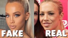Seeing your favorite star to look like this without makeup will be shocking and this article is just to shock you. Makeup Photoshop, Photoshop Fail, Real Beauty, Beauty Make Up, Instagram Vs Real Life, Instagram Photoshop, Real Bodies, Self Conscious, Without Makeup