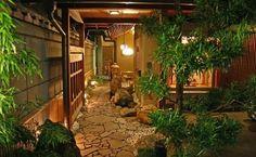 Jardín japonés casa de té | Handspire