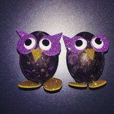 Easter Eggs, Owl, Owls