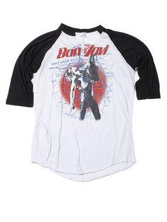 Bon Jovi Salt City Tour Vintage T-Shirt 1987 2344fe4d8ff2