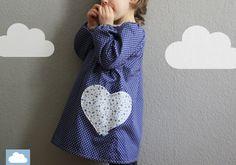 """Kleid """"Madita"""" langarm von kleine Wölkchen auf DaWanda.com"""