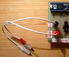 A very basic and easy to make arduino PC oscilloscope.Features: 50K samples/second(actually it can go up to 110K but the signal will become noisy) Auto trigger Frequency counter Reasonably accurate voltage readings (depending on the accuracy of the resistors used for the voltage dividers)