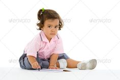 cute girl writing ...  Pink Blouse, asian, background, beautiful, book, child, childhood, cute, education, female, girl, human, indoor, infant, interracial, isolated, joy, kid, learn, learning, little, lovely, mix, multiethnic, multiracial, note, notebook, notes, one, pen, people, person, portrait, preschool, preschooler, pretty, school, sit, sitting, small, studio, sweet, thai, toddler, uniform, white, write, writing, young, youth