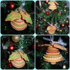 Navidad Campanas de galleta