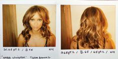 Tyra Banks looking amazing after session with Hair Stylist Lisa Mitchell