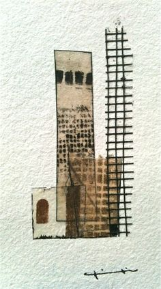 Kikis Alamo. Hand made paper collages.