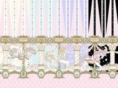 Day Dream Carnival print   #AngelicPretty #AP #Print #Lolita
