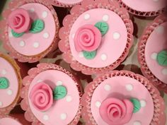 Cath Kidston inspired cupcakes
