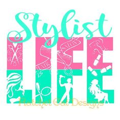 Stylist LIFE Cutting File Studio 3 Silhouette by RatchetCatDesigns