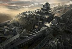 Mortis Bessote, the capital of the Wendish Empire, the Republic's long-time archenemy for almost 3000 years