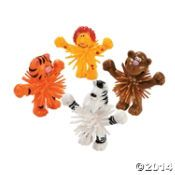 Standing Zoo Animal Porcupine Characters