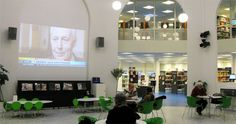 Hall - The Library as a Meeting Space - MODEL PROGRAMME FOR PUBLIC LIBRARIES