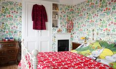 A derelict 1920s London property gets vivid touches from a Finnish designer