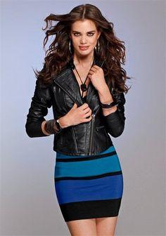 Laura Scott Strickrock im Online Shop von Ackermann Versand Laura Scott, Shops, Leather Skirt, Sea, Skirts, Blue, Shopping, Fashion, Lugares