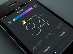 App concept by Rally Interactive