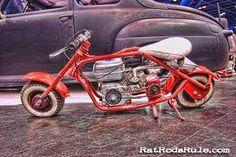 Mini Bike Rat Rod Short Trip Scooter !~