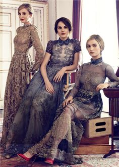 Downton Abbey by Alexi Lubormirski for Harpers Bazaar UK