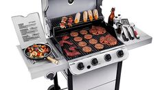 Top Five Best Gas Grills of 2020 Under $150.  #GasGrills #GasGrill #Gas #Grills #Food #Kitchen #HomeImprovement #Tips #Amazon #Shopping #InternetShopping #OnlineShopping #Internet #Store #eStore #eCommerce #BuyingGuide #ShoppingTips #BuyingTips #ConsumerGuide Best Gas Grills, Internet Store, How To Grill Steak, Outdoor Cooking, Shopping Hacks, Espresso Machine, Ecommerce, Grilling, Technology