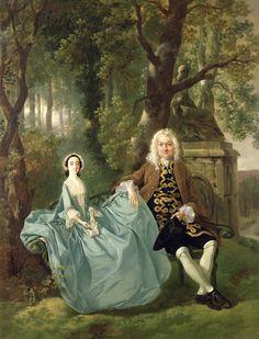 Thomas Gainsborough, Portrait of Mr and Mrs Carter of Bullingdon House