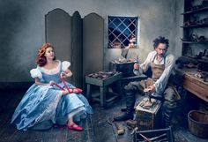 Amy Adams and Tim Burton Reimagine The Red Shoes – Vogue