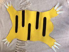 Filzteppich Tigerfell passend zu Kissen Tiggi Tiger von Heimrausch