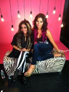 Slideshow: JWoWW goes pink with wild new hair do