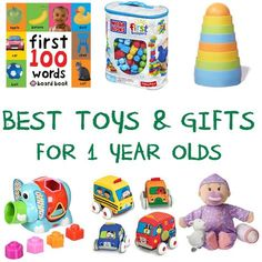 Here are the best toys and gifts for 1 year olds that experts say will support sensory and motor skill development.