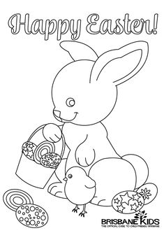 Easter Colouring Pages to print out