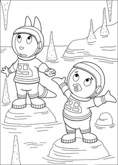 59 Backyardigans Printable Coloring Pages For Kids Find On Book Thousands Of