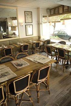 To brunch at Cafe Cluny   West Village...