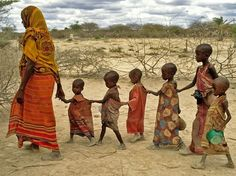 Somalia.  Who of them will actually have a chance to grow old?