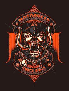 Ace of Snakes Motorhead Arte Heavy Metal, Heavy Metal Rock, Hard Rock, Rock Posters, Band Posters, Music Posters, Thrash Metal, Music Artwork, Art Music