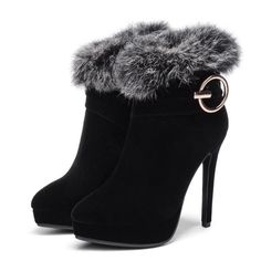 Ankle Boots Heels For Women Sexy Ankle Boot Size 11 Women Thigh High Boots Heels, Platform Ankle Boots, Heeled Boots, Shoe Boots, Fancy Shoes, Pretty Shoes, Cute Shoes, Cute High Heels, Fashion Heels