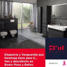 Elegancia y Vanguardia que Keramag tiene para ti… Ven y descúbrelo en Boato Pisos y Baños
