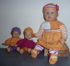 zelf gemaakt voor de poppen van mijn kleindochter-geel-wit