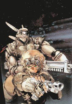 Cyberpunk, Anime, Appleseed -- one of the best manga series I've ever read; it's pretty hard to top any of Masamune Shirow's work. Manga Artist, Good Manga, Character Art, Japanimation, Anime Comics, Masamune Shirow, Anime, Manga, Ghost In The Shell