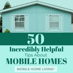 Home Renovation Tips 50 tips about mobile homes covering topics from additions to walls. - We've collected 50 tips about mobile homes every owner should know about all aspects of mobile and manufactured homes like buying, repairing, and maintaining. Mobile Home Siding, Mobile Home Redo, Mobile Home Porch, Mobile Home Exteriors, Mobile Home Floor Plans, Mobile Home Renovations, Mobile Home Repair, Mobile Home Makeovers, Mobile Home Decorating