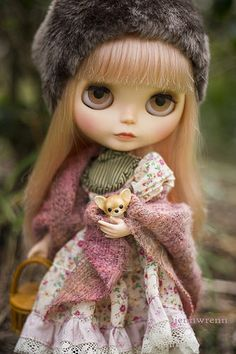 a friend in winter by JennWrenn, via Flickr