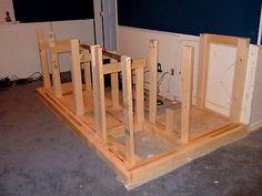 building a home bar plans free