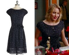 Loved Quinn's dress from 'On My Way'? Its fate lies in your hands! Designed by one of Glee's, and our personal, favorite designers, Eva Franco, this gorgeous tie-waist dress could be yours - but only...