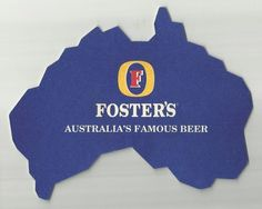 the entire shape of the beer coaster was changed to suit the circumstance Sous Bock, Beer Mats, Beer Coasters, Fb Page, Craft Beer, The Fosters, Life Is Good, National Trust, Australia