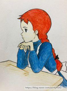 1번째 이미지 Anne Auf Green Gables, Mini Drawings, Anne Shirley, Character Drawing, Studio Ghibli, Cool Art, Diy And Crafts, Disney Characters, Fictional Characters